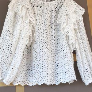 Ulla Johnson Caasi blouse NWT